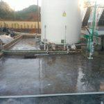 pavimento resistente quimica resina epoxy acido scrath coat