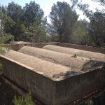 Filtraciones inyecciones agua resina rehabilitacion deposito impermeabilizacion sellado