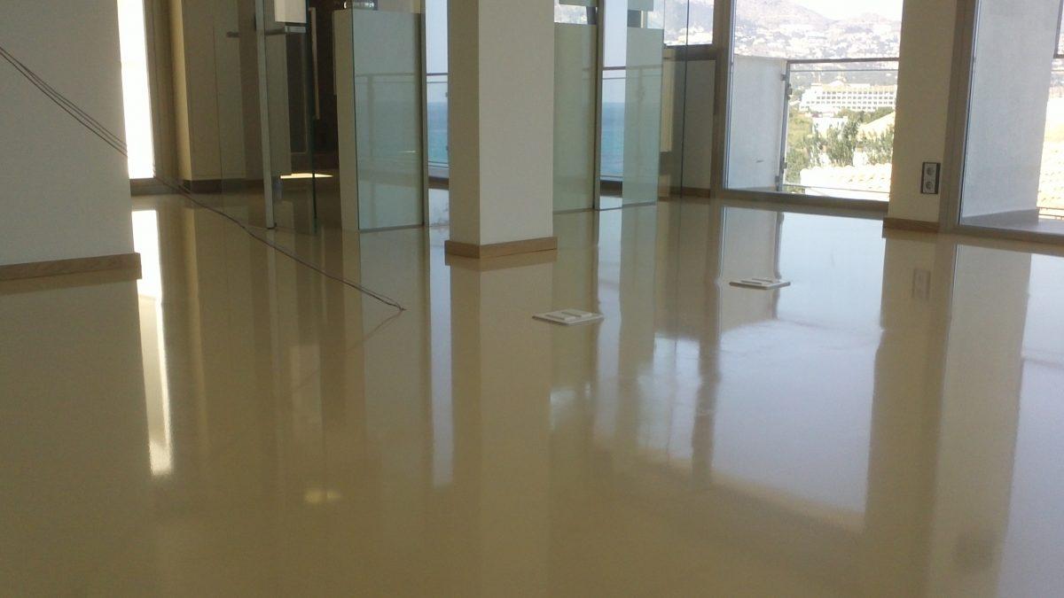 pavimento decorativo poliuretano