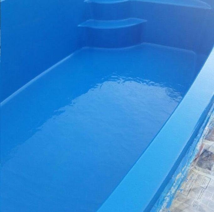 membrana de poliurea piscina