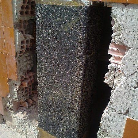 Inyección superficial de resinas para estructuras