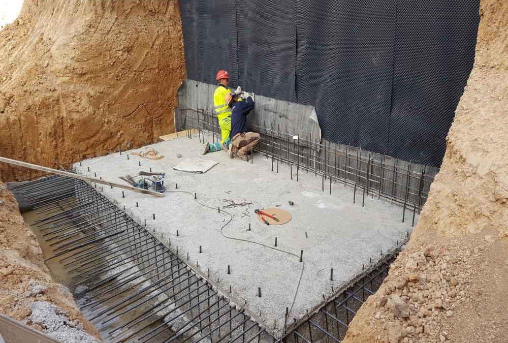 Impermeabilización cimentaciones
