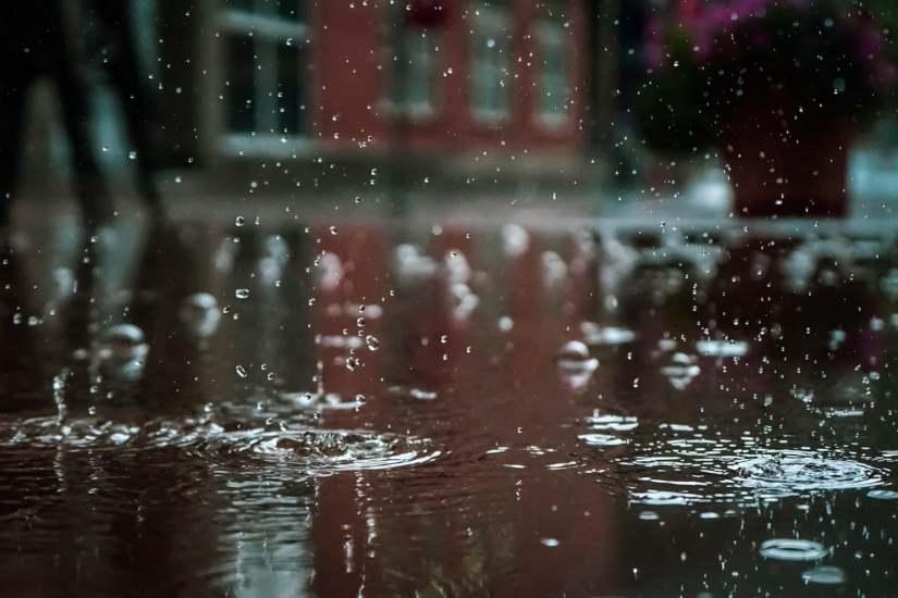 Humedades de lluvia