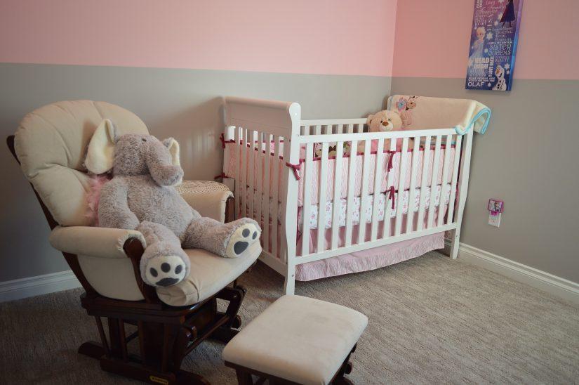 humedad en la habitación de los niños